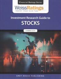 Weiss Ratings' Investment Research Guide to Stocks Summer 2018