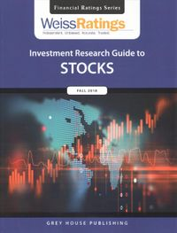 Weiss Ratings Investment Research Guide to Stocks, Fall 2018