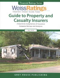 Weiss Ratings' Guide to Property and Casualty Insurers Fall 2018