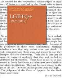 LGBTQ+ (1923-2017)