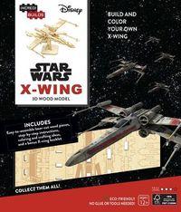 Incredibuilds Star Wars X-Wing 3D Wood Model