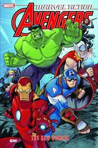 Marvel Action Avengers the New Danger 1