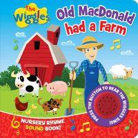 Old Macdonald Had a Farm Nursery Rhyme Sound Book!