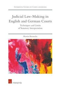 The Judicial Law-Making in English and German Courts