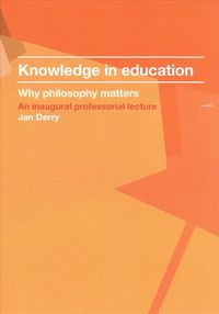 Knowledge in Education