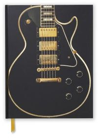 Gibson Les Paul Custom Guitar Blank Sketch Book