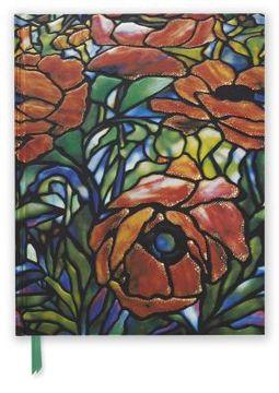 Tiffany's Oriental Poppy Blank Sketch Book