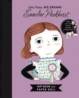 Emmeline Pankhurst Gift Book and Paper Doll