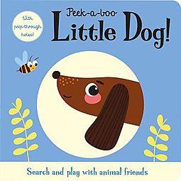 Peek-a-Boo Little Dog!