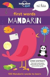 Lonely Planet Kids First Words Mandarin