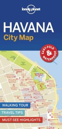 Lonely Planet City Map Havana