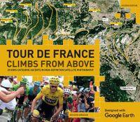 Tour De France Climbs from Above
