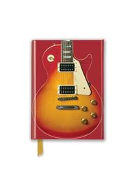 Gibson Les Paul Guitar, Sunburst Red Foiled Pocket Notebook