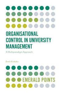 Organisational Control in University Management