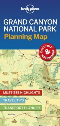 Lonely Planet Grand Canyon National Park Planning Map