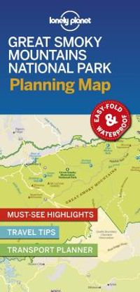 Lonely Planet Great Smoky Mountains National Park Planning Map