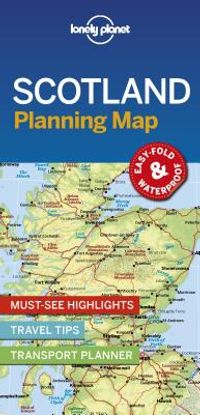Lonely Planet Planning Map Scotland