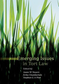 Emerging Issues in Tort Law