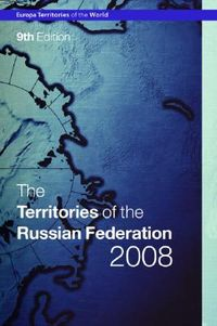 The Territories Of The Russian Federation 2008