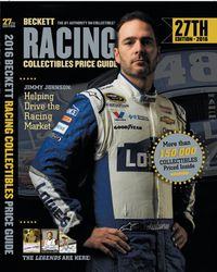 Beckett Racing Collectibles Price Guide 2016