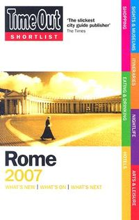 Time Out Shortlist 2007 Rome