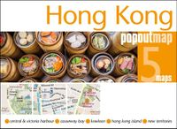 Popout Map Hong Kong