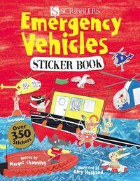 Emergency Vehicles Sticker Book