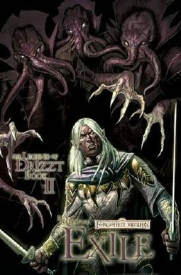 Forgotten Realms Legend of Drizzt Graphic Novels 1