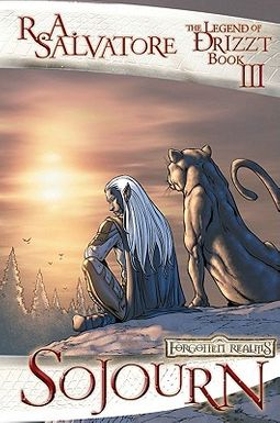 HPB | Search for Forgotten Realms Legend of Drizzt Graphic