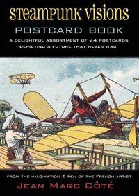 Steampunk Visions Postcard Book