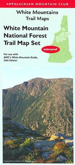 Appalachian Mountain Club White Mountains Trail Maps