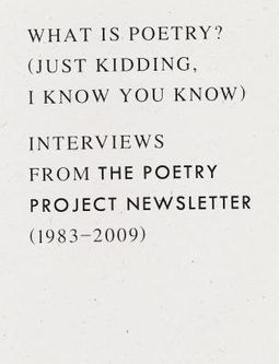What Is Poetry? (Just Kidding, I Know You Know)