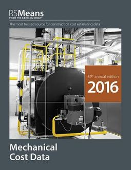 RSMeans Mechanical Cost Data 2016 by Mossman, Melville J  (EDT)/ Mewis, Bob  (CON)/ Babbitt, Christopher (CON)/ Charest, Adrian C  (CON)/ Elsmore,