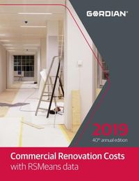 Commercial Renovation Costs With RSMeans Data 2019