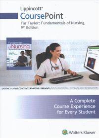 Fundamentals of Nursing Lippincott Coursepoint Access Code