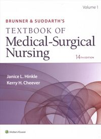 Brunner & Suddarth's Textbook of Medical-Surgical Nursing, 14th ed., 2 volumes - Maternity and Pediatric Nursing, 3rd Ed.