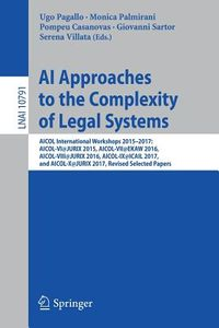 AI Approaches to the Complexity of Legal Systems