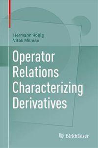 Operator Relations Characterizing Derivatives