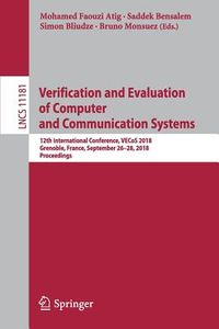 Verification and Evaluation of Computer and Communication Systems