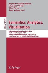 Semantics, Analytics, Visualization