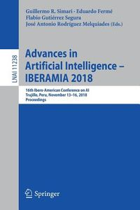 Advances in Artificial Intelligence - Iberamia 2018