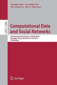 Computational Data and Social Networks