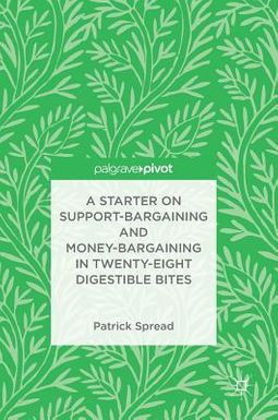 A Starter on Support-Bargaining and Money-Bargaining in Twenty-Eight Digestible Bites