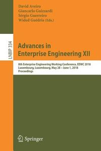 Advances in Enterprise Engineering