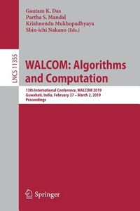Walcom - Algorithms and Computation