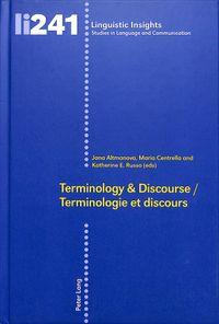 Terminology & Discourse/Terminologie Et Discours