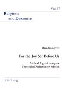 For the Joy Set Before Us