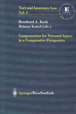 Compensation for Personal Injury in a Comparative Perspective