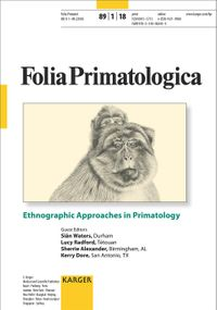 Ethnographic Approaches in Primatology