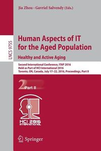 Human Aspects of It for the Aged Population